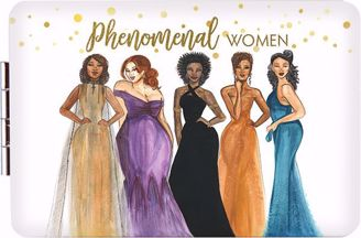 Phenomenal Women Black Art Compact Mirror PM07