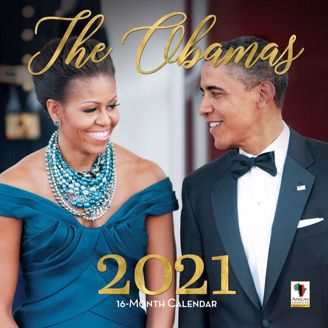 The Obamas 2020 Collectible African American Calendar - Cover