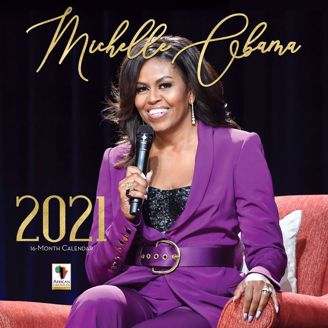 Michelle Obama 2020 Collectible African American Calendar - Cover