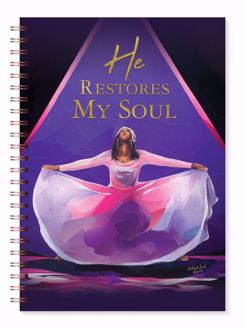 He Restores My Soul Black Art Praise Dancer Journal J220