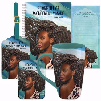 Psalm 139:14 Wonderfully Made Natural Hair Gift Set