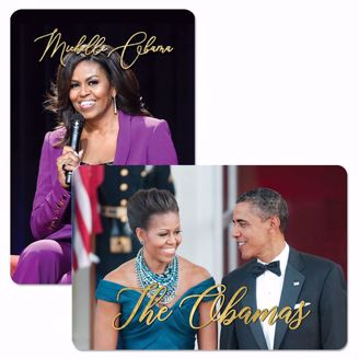 M212 The Obamas and Michelle Obama Collectible Magnet Set