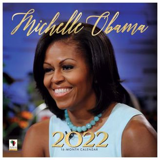 Michelle Obama Wall Calendar | Black Stationery | African American Expressions