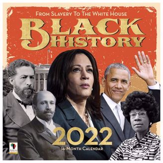Black History Wall Calendar   Black Stationery   African American Expressions