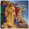 Walking by Faith Wall Calendar   Black Stationery   African American Expressions
