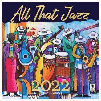 All That Jazz Wall Calendar | Black Stationery | African American Expressions