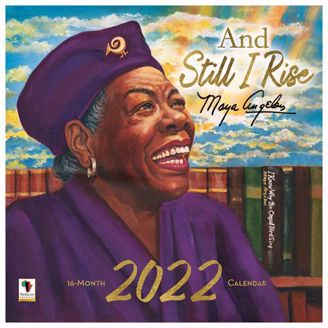Still I Rise Wall Calendar   Black Stationery   African American Expressions