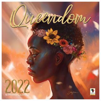 Queendom Wall Calendar | Black Stationery | African American Expressions