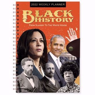 Black History Weekly Planner | Black Stationery | African American Expressions